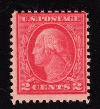 2c deep rose Type Ia Scott 500 Fine OG NH rare stamp SCV.$550