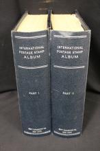 Scott Internationals Vol.I and II Stamp Albums