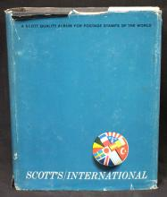 Scott International Vol.VI Stamp Album