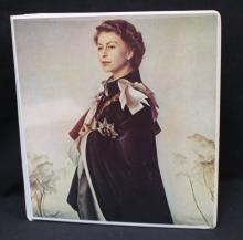 Queen Elizabeth 25th Anniversary Stamp Collection