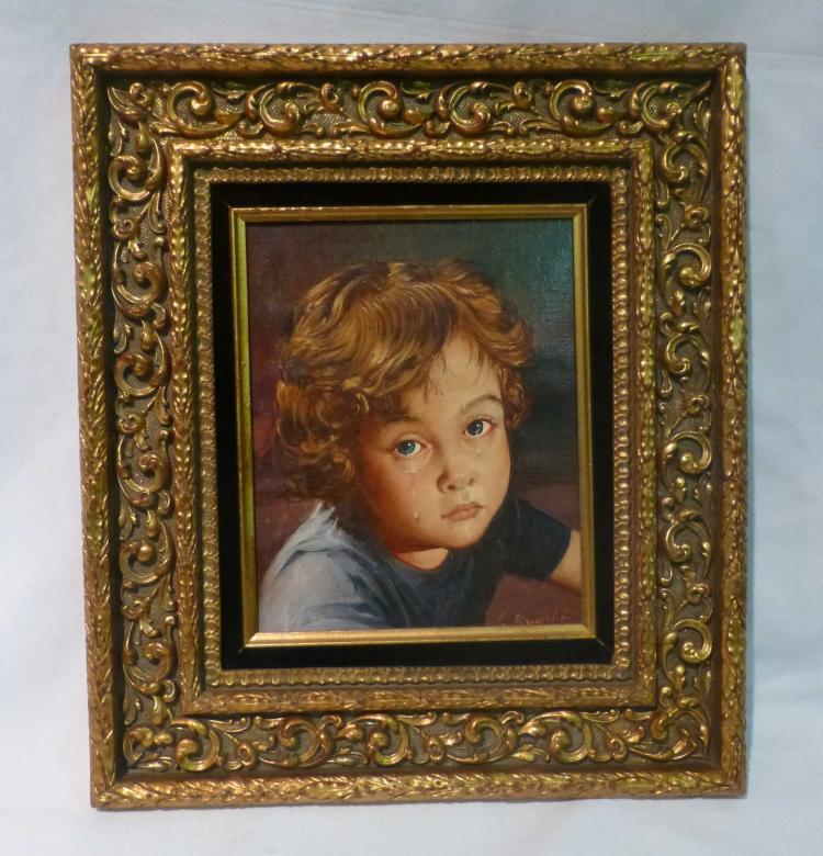 Giovanni Bragolin (1911-1981), Crying Boy
