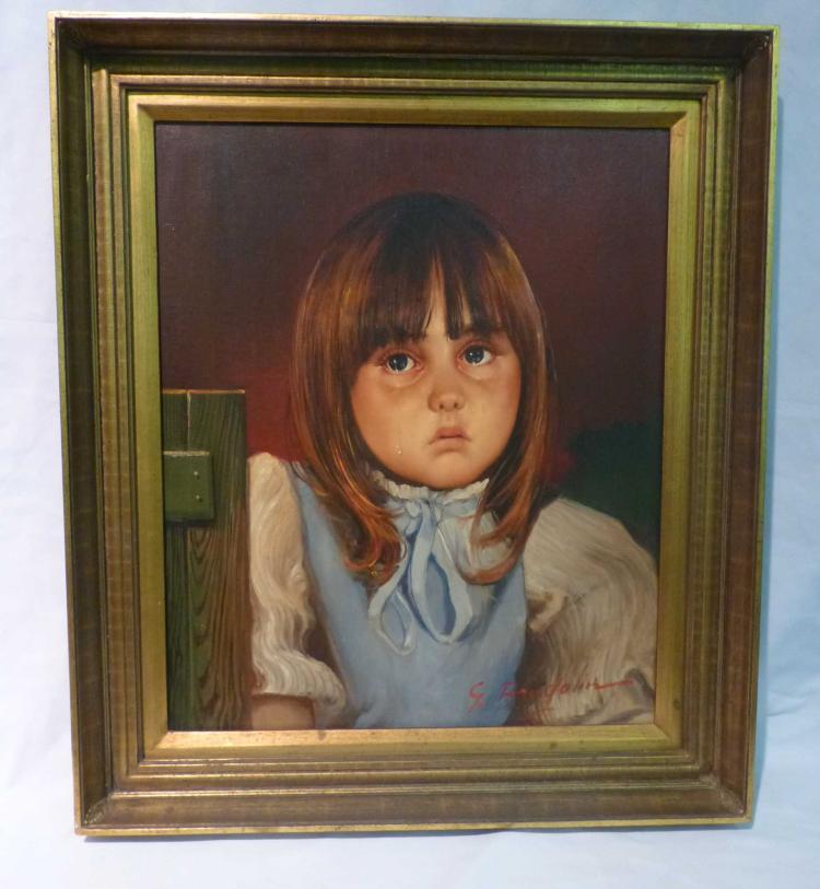Giovanni Bragolin (1911-1981), Crying Child Girl