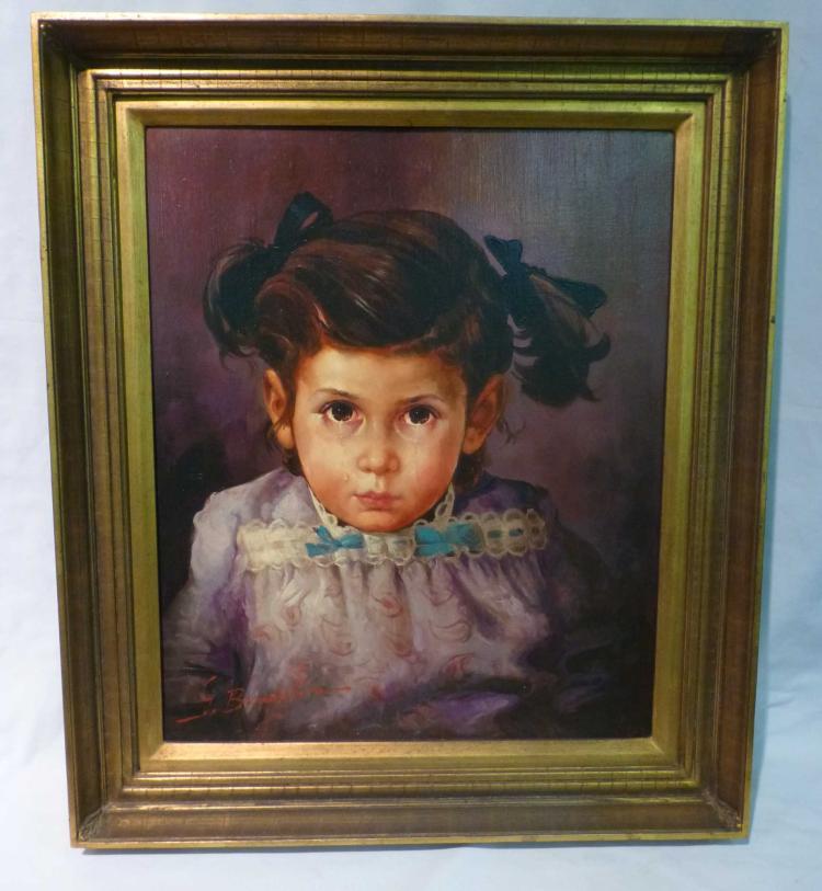 Giovanni Bragolin (1911-1981), Crying Girl