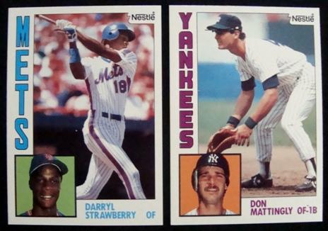 1984 Nestle Baseball Complete Set
