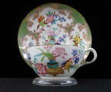 19th c Minton & Hollins no 3969 Oriental Cup & Saucer