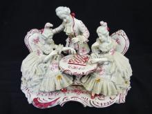 Volkstedt German Dresden Porcelain Figural Group
