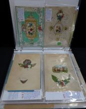 30 Valentine Cards & Envelopes from the mid 1800's