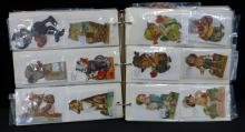 Collection 1920's German Mechanical Litho Valentines 90+