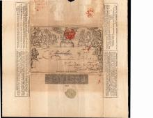 Great Britain Scott U3 Used Letter Sheet VF SCV.$500