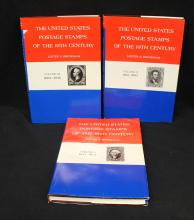 Lester Brookman - The United States Postage Stamps of the 19th Century Volumes I-II-III