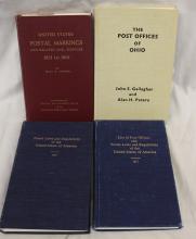 Four Important Hardbound Philatelic Literature Books