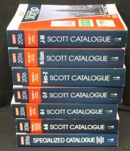 2016 Scott Stamp Catalogs Volumes 1-6 plus U.S. Specialized