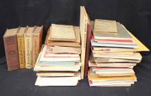 Large Lot of Philatelic Literature 1900-1950