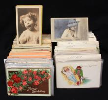 (500-700) Mixed States Greeting Topical Postcards