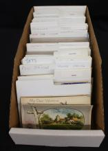 (400-600) U.S. and Foreign Postcards Retired Dealer Stock