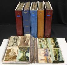 (1200-1400) U.S. and Worldwide Countries Postcard Lot
