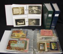(500-700) Mixed States Towns & Views Postcards