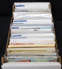 (350-450) Topical Postcards Souvenir Folders to Novelties