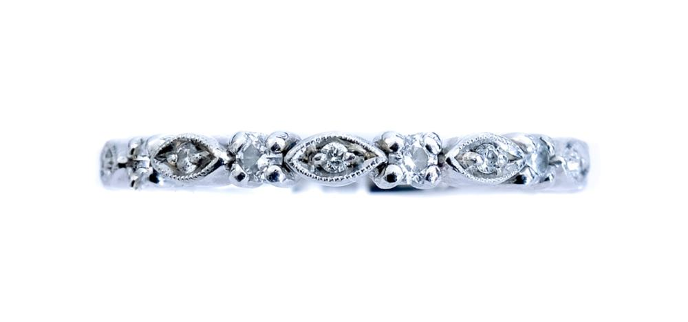 Designer Noam Carver Platinum Diamond Ring