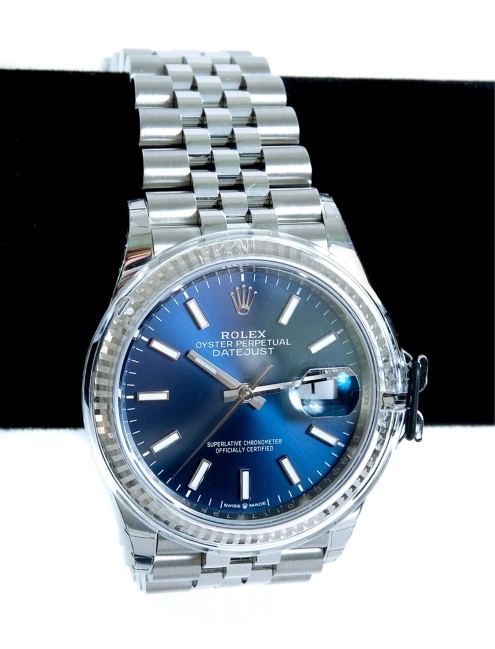 Men's Rolex Oyster Perpetual Datejust Watch NEW