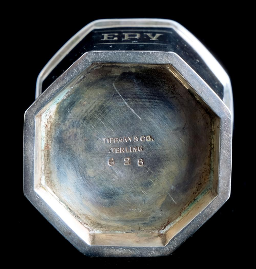 Tiffany & Co Sterling Octagonal Toothpick Holder