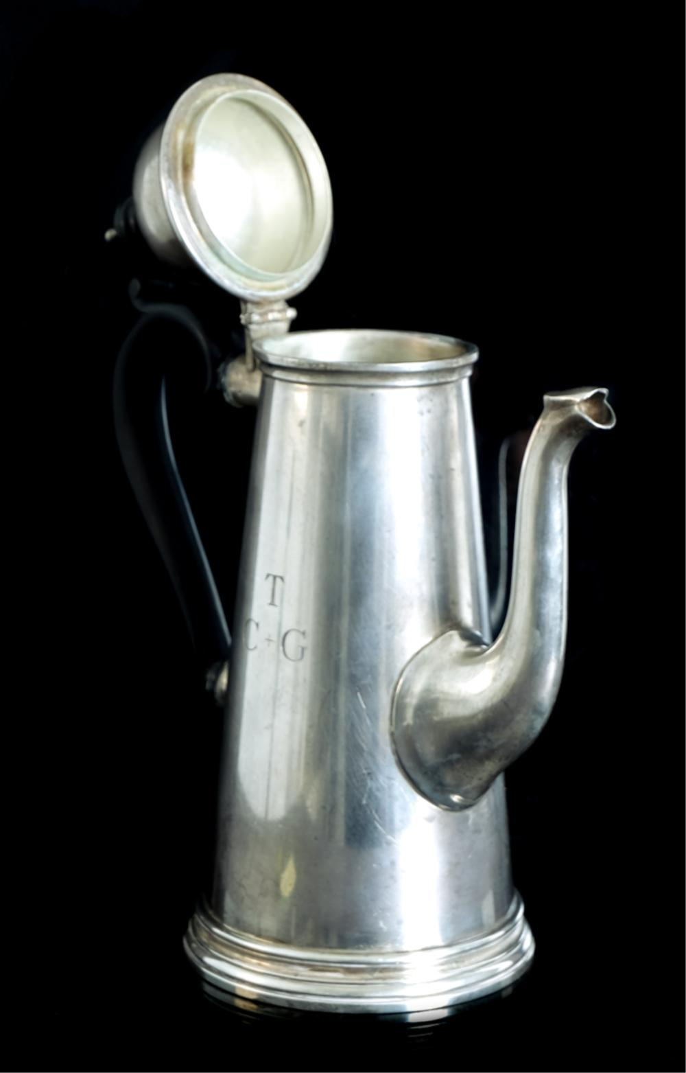 Tiffany & Co. Sterling Silver Coffee Pot 1950's