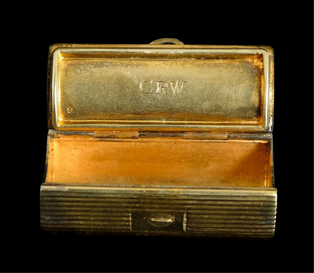 Tiffany & Co Gold Vermeil & Sterling Silver Box