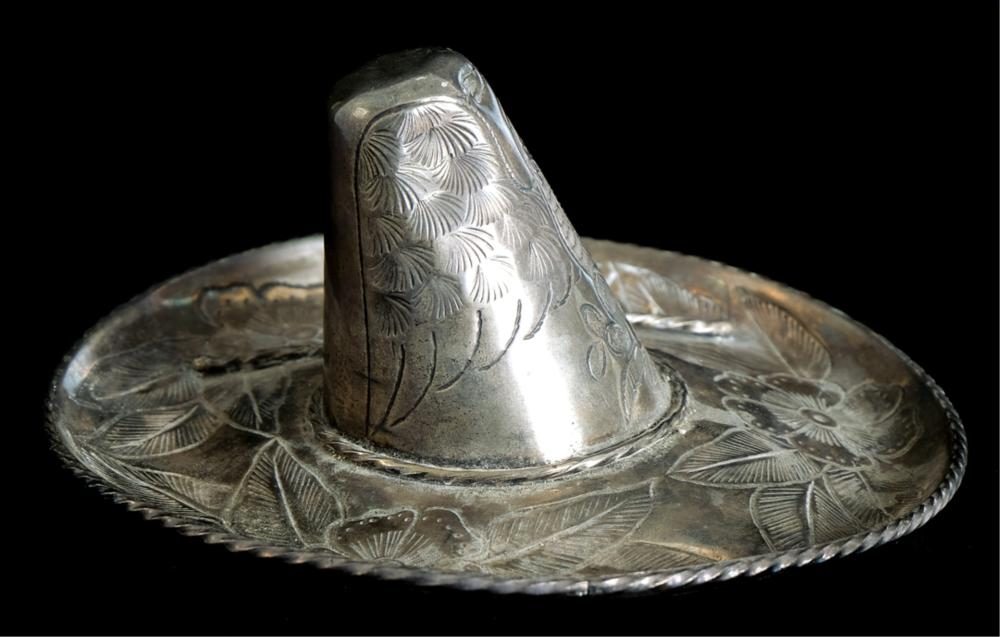 Mexican Maciel Sterling Silver Sombrero Dish
