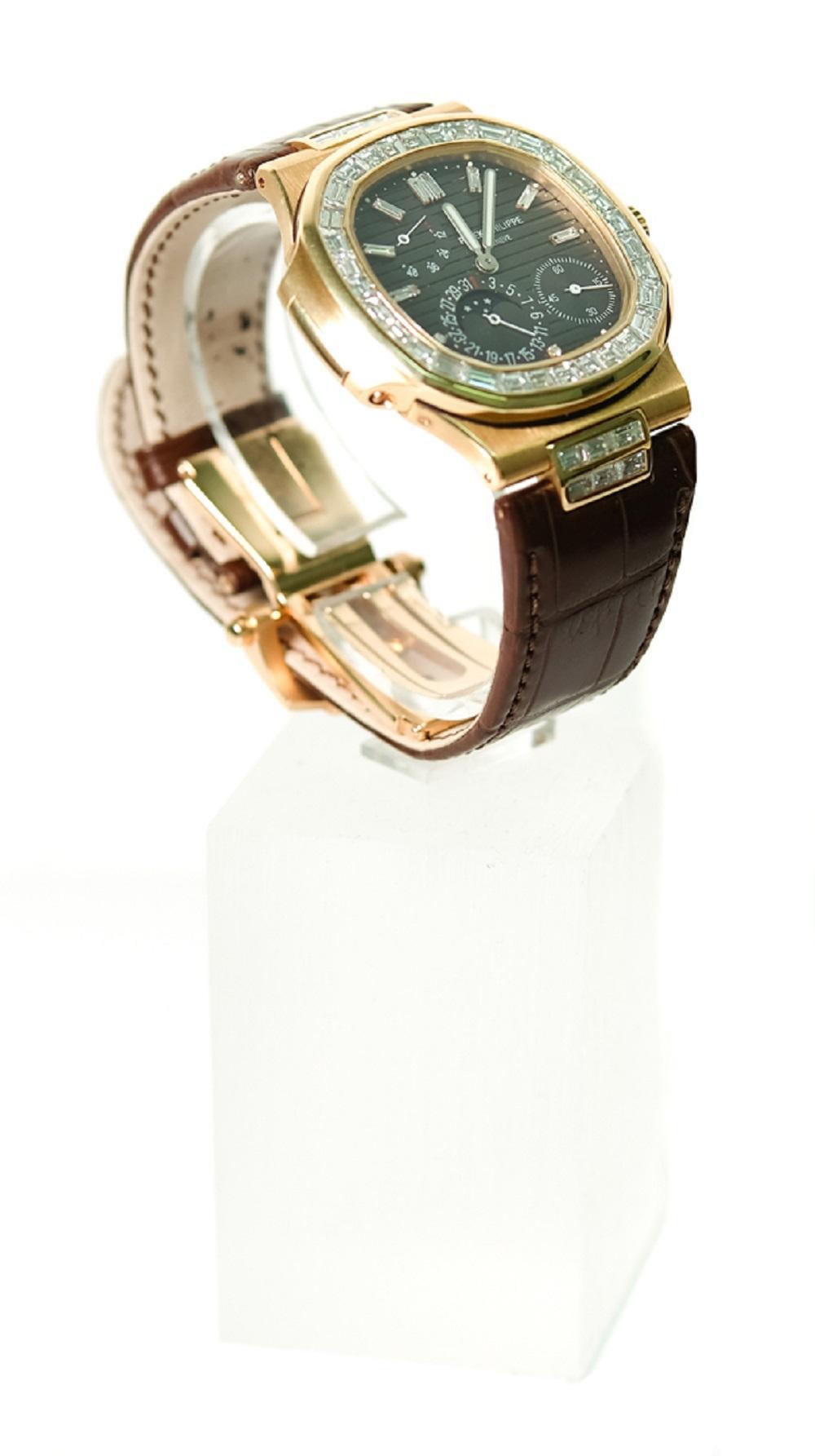 Patek Philippe 52724G Nautilus Self-Winding Watch
