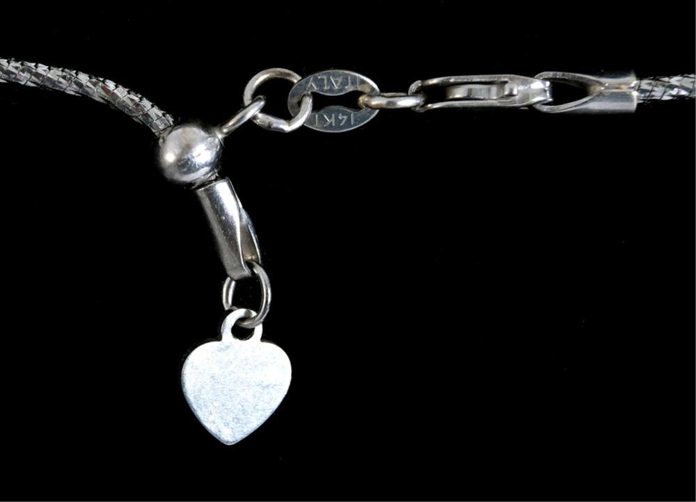 Islamic Diamond Symbol Pendant on 14k YG Chain