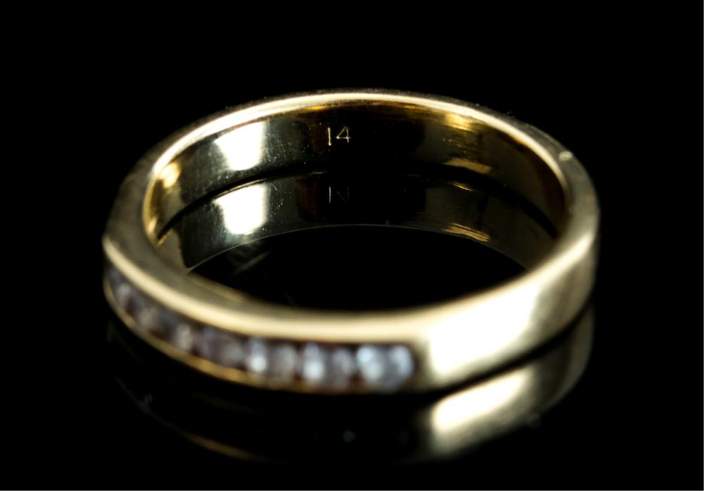 14k Yellow Gold Small Ring size 3.5