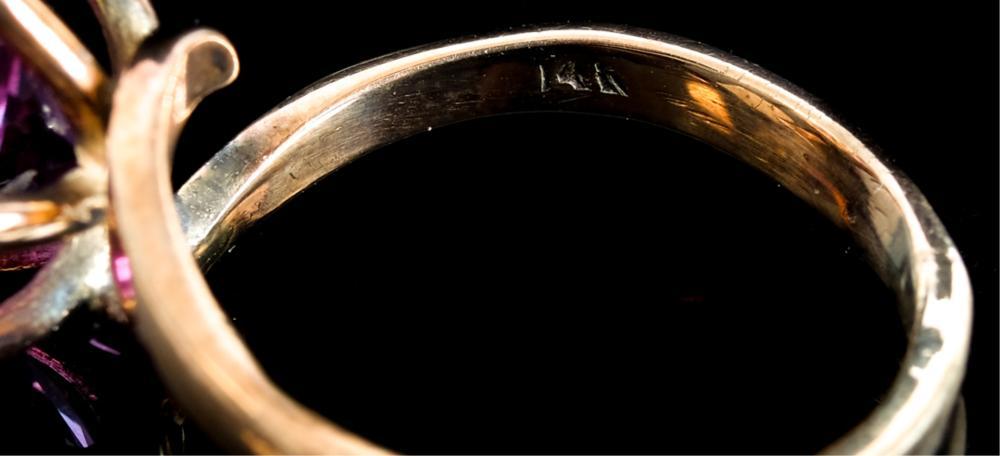 14k Rose Gold & Mystic Topaz Cocktail Ring