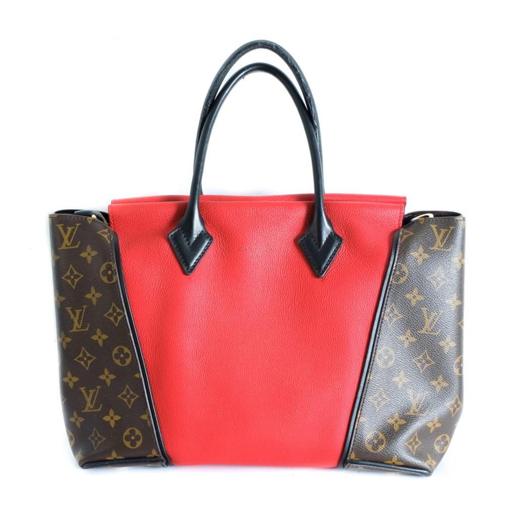 Louis Vuitton V Tote Monogram Canvas and Leather