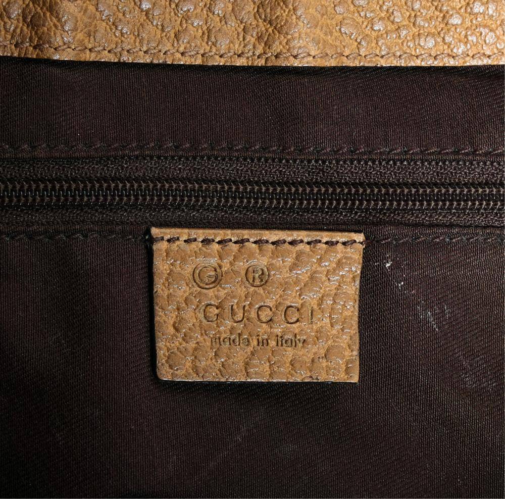 Gucci Demi Lune Sack Bag with Bamboo Hardware