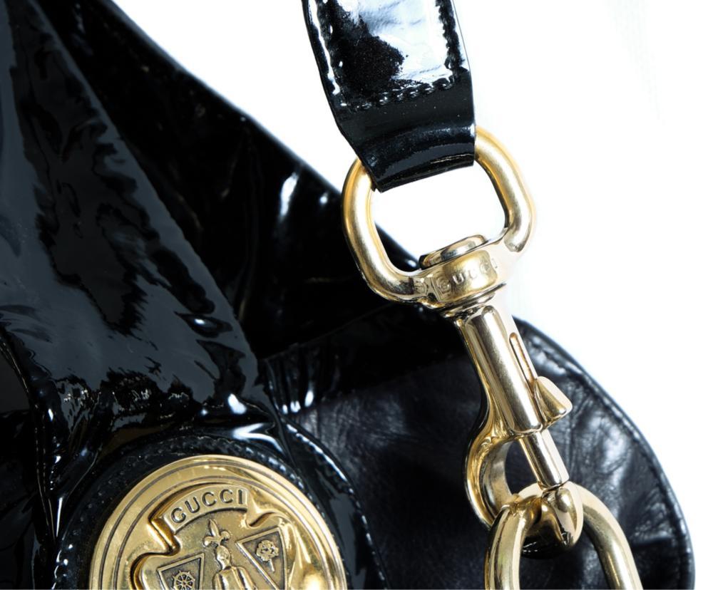 Jumbo Gucci Patent Leather Purse