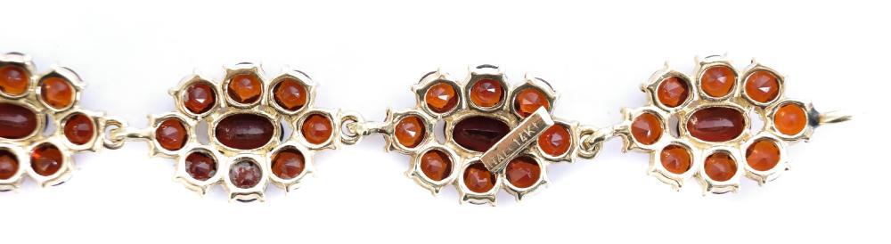 14k Yellow Gold & Tourmaline Bracelet