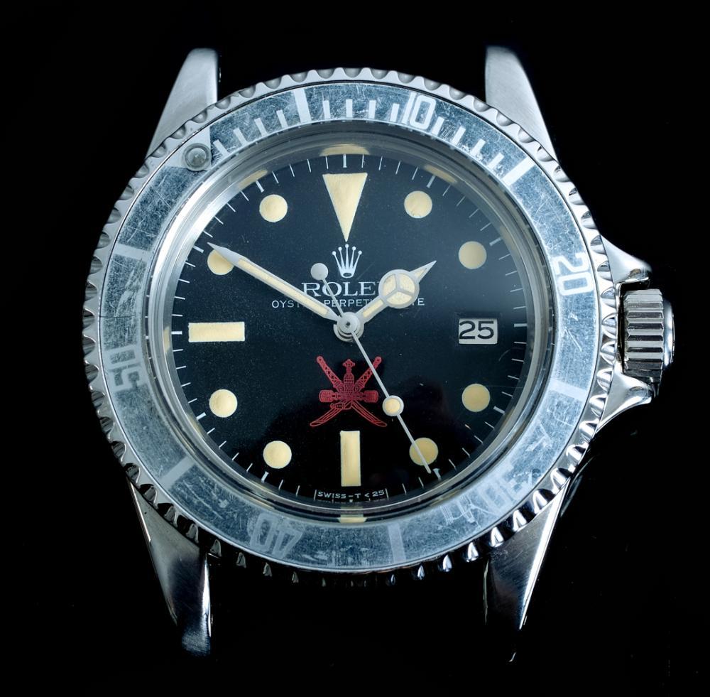RARE Red Rolex Khanjar Sea-Dweller Watch