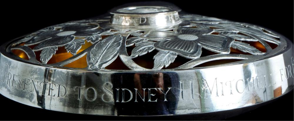 Important Asprey Sterling Custom Presentation Bowl