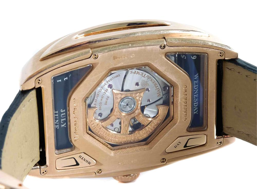 Maitres Du Temps Pink Gold Chapter Two Watch