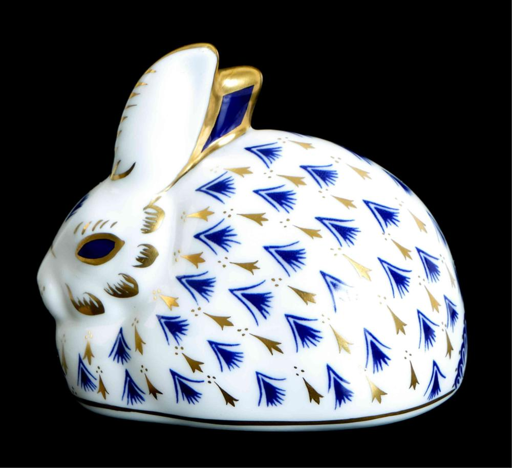 Royal Crown Derby LVI Bone China Rabbit