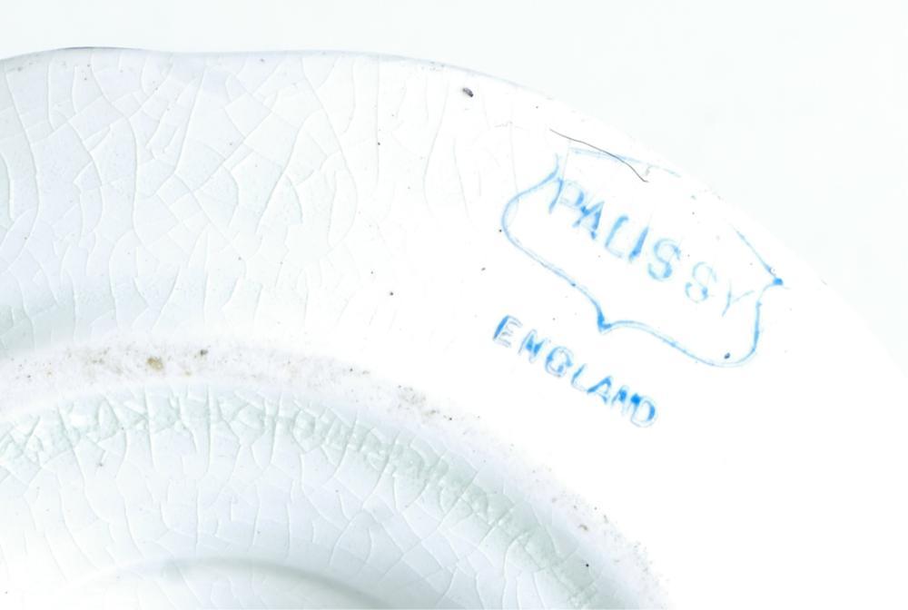 Palissy England Porcelain 7 Pc Vanity Dresser Set