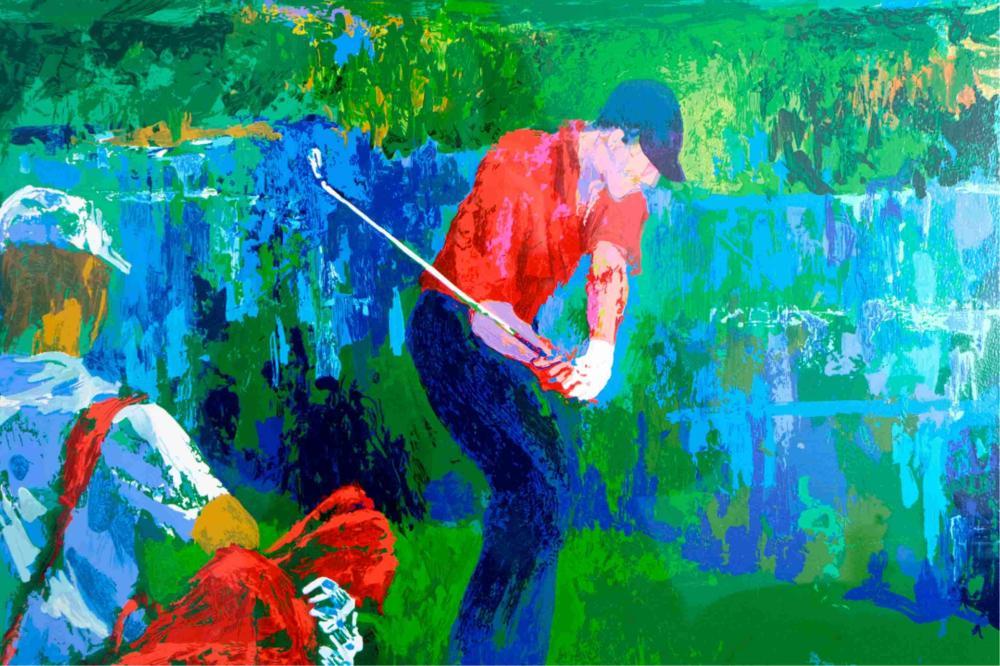 Leroy Neiman Valhalla, PGA 2000, 15/300