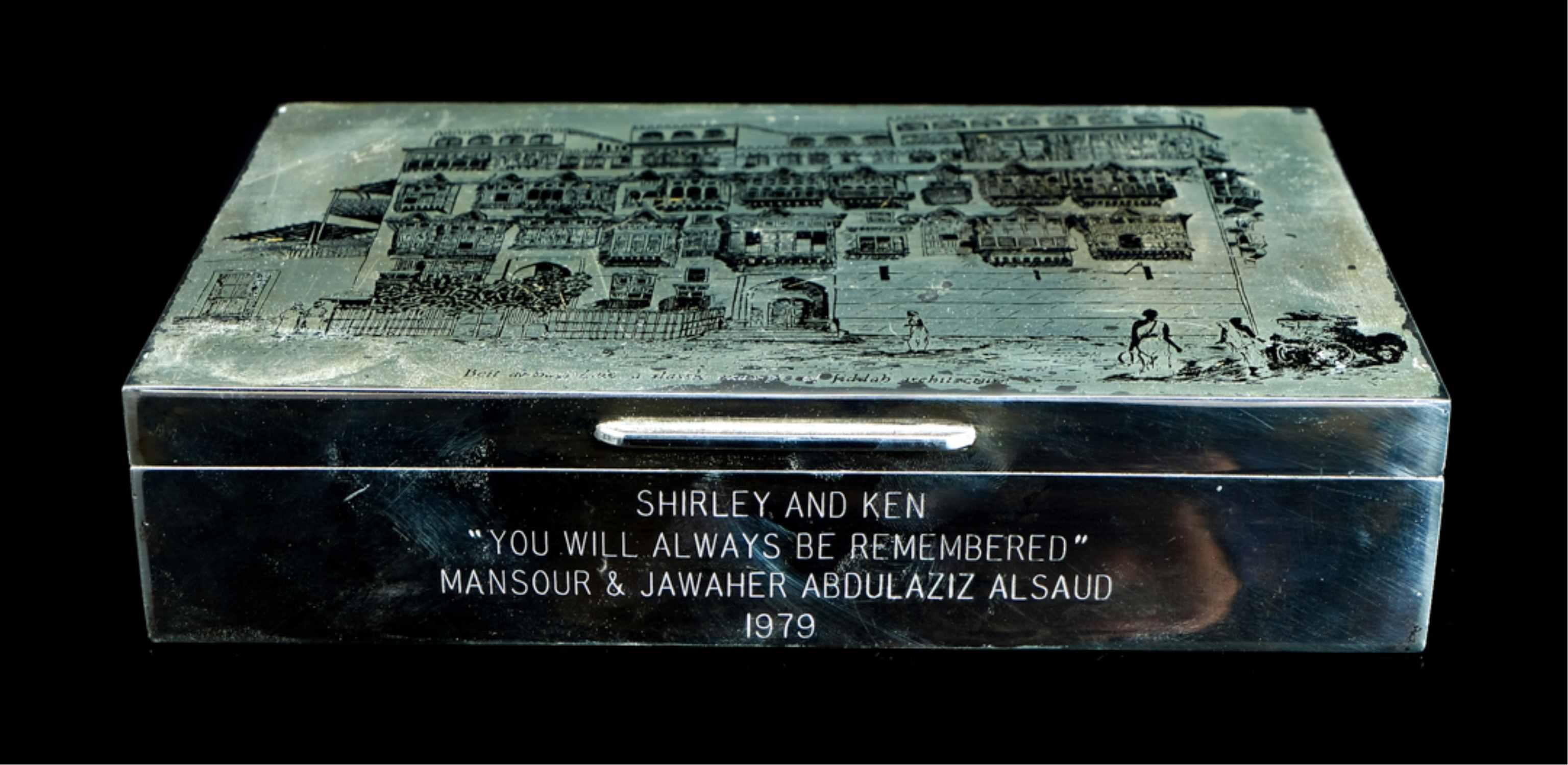 Important Silver Box from King Abdulaziz Al Saud