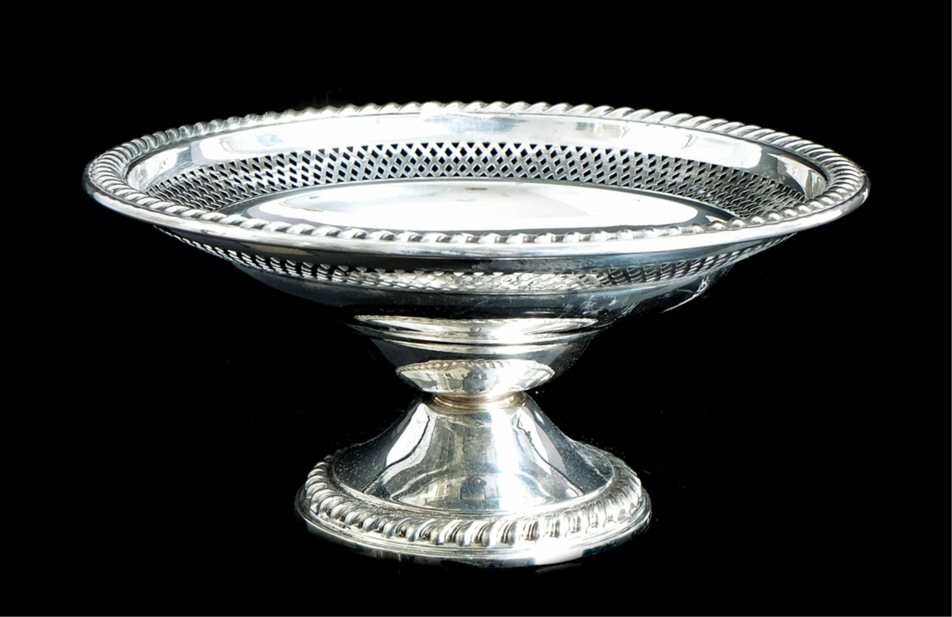 Cornwell Sterling Silver Reticulated Compote