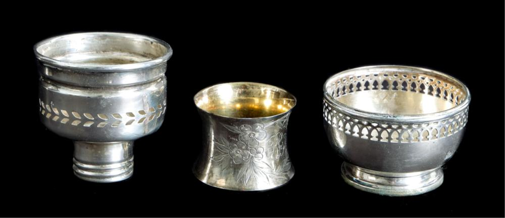 Group, 800 & 925 Silver Table Accessories
