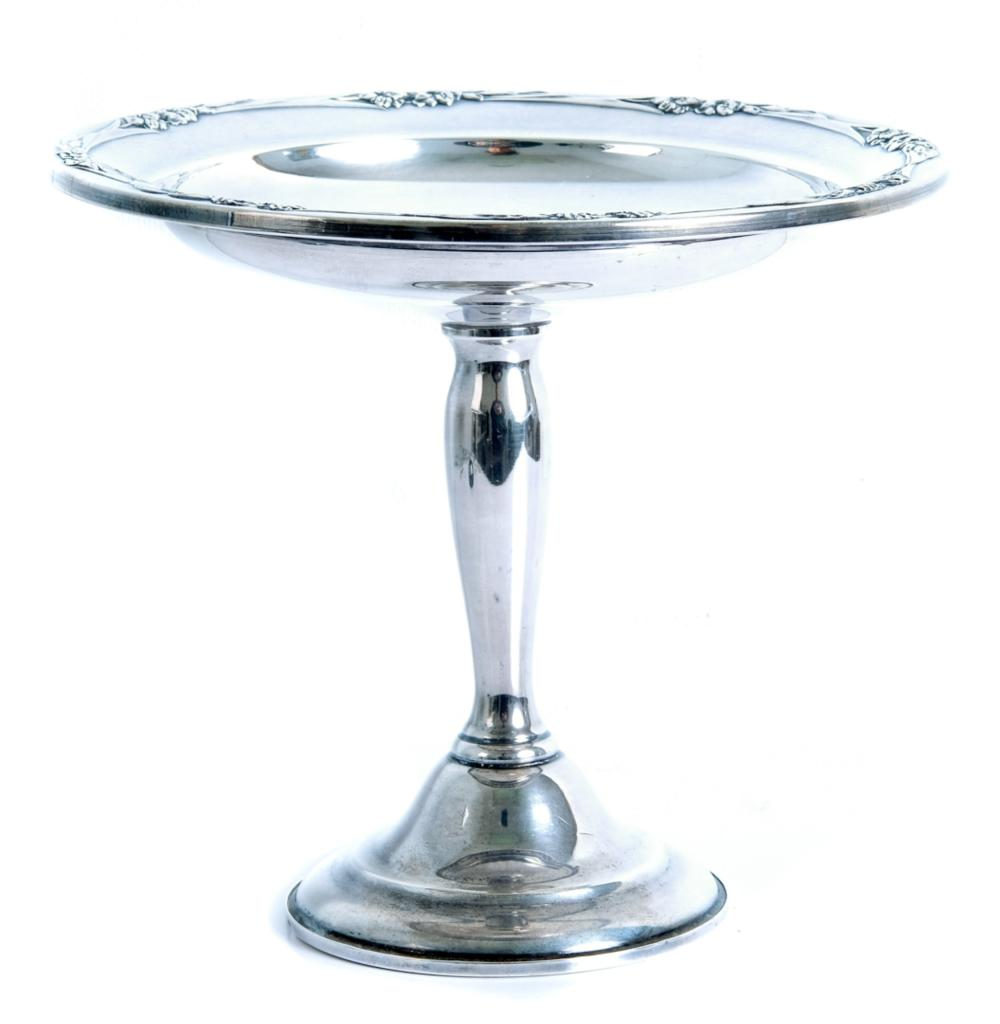International Silver 'Blossom Time' Footed Compote