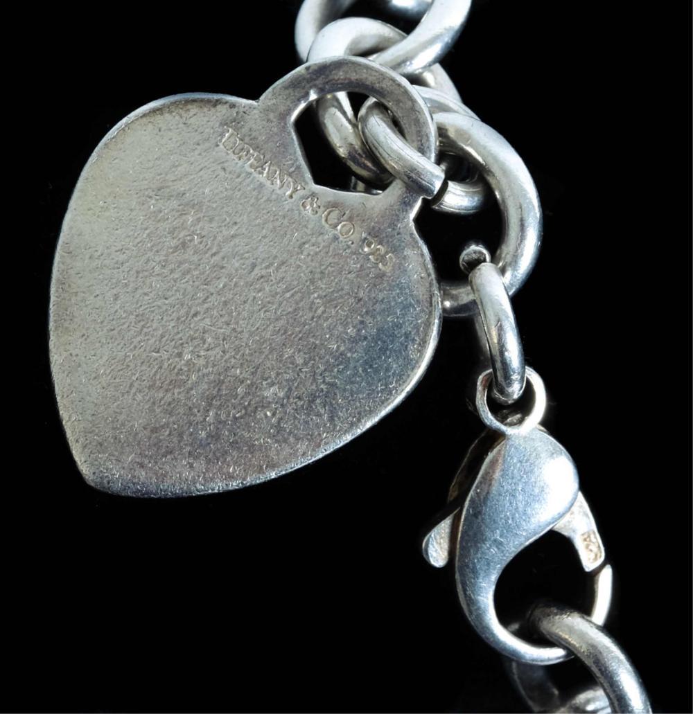 Tiffany & Co. Sterling Silver Heart Tag Bracelet
