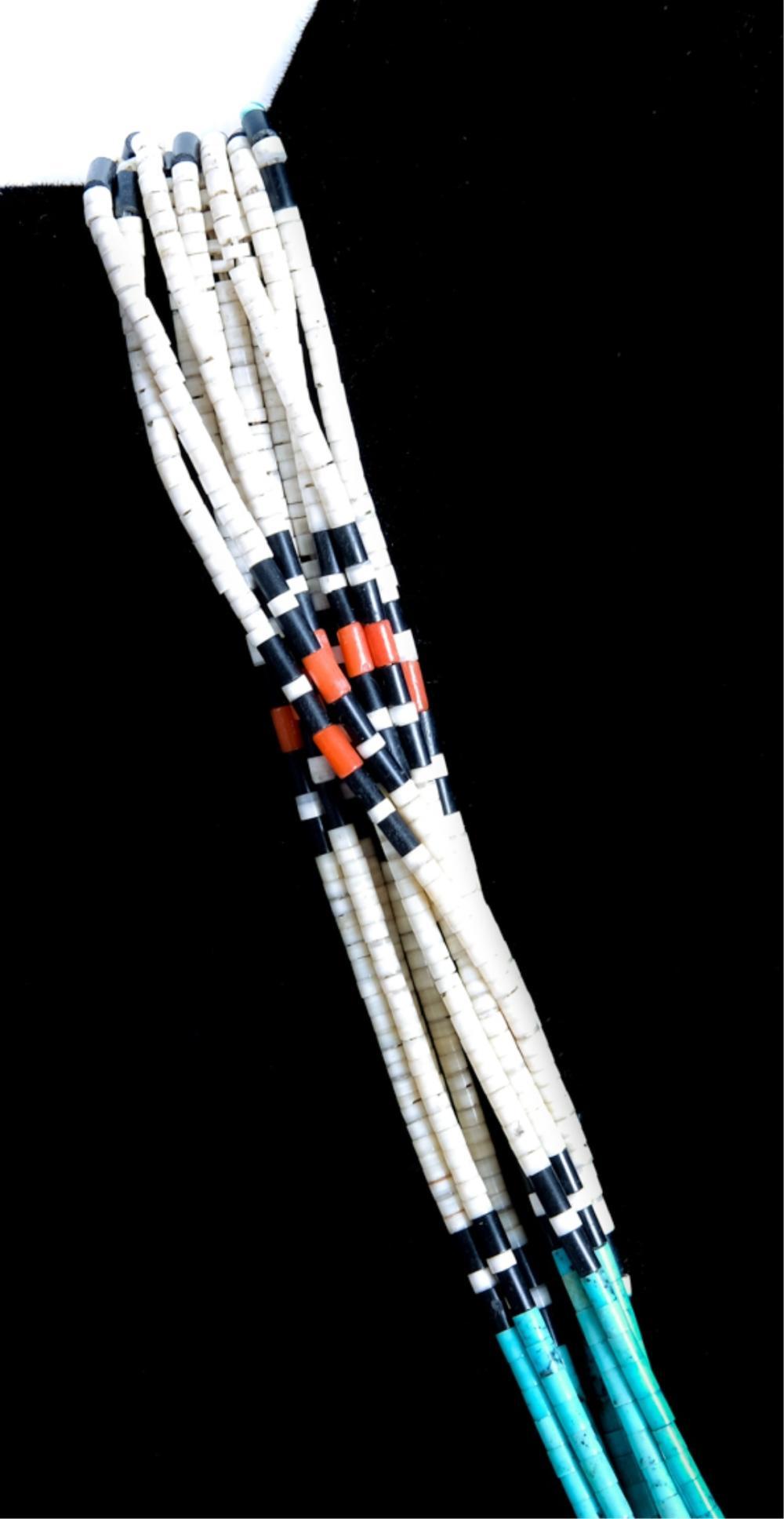 1920's Art Deco Navajo Beaded Necklace