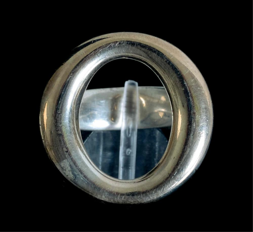 Elsa Peretti Tiffany & CO Sterling Sevillana Ring