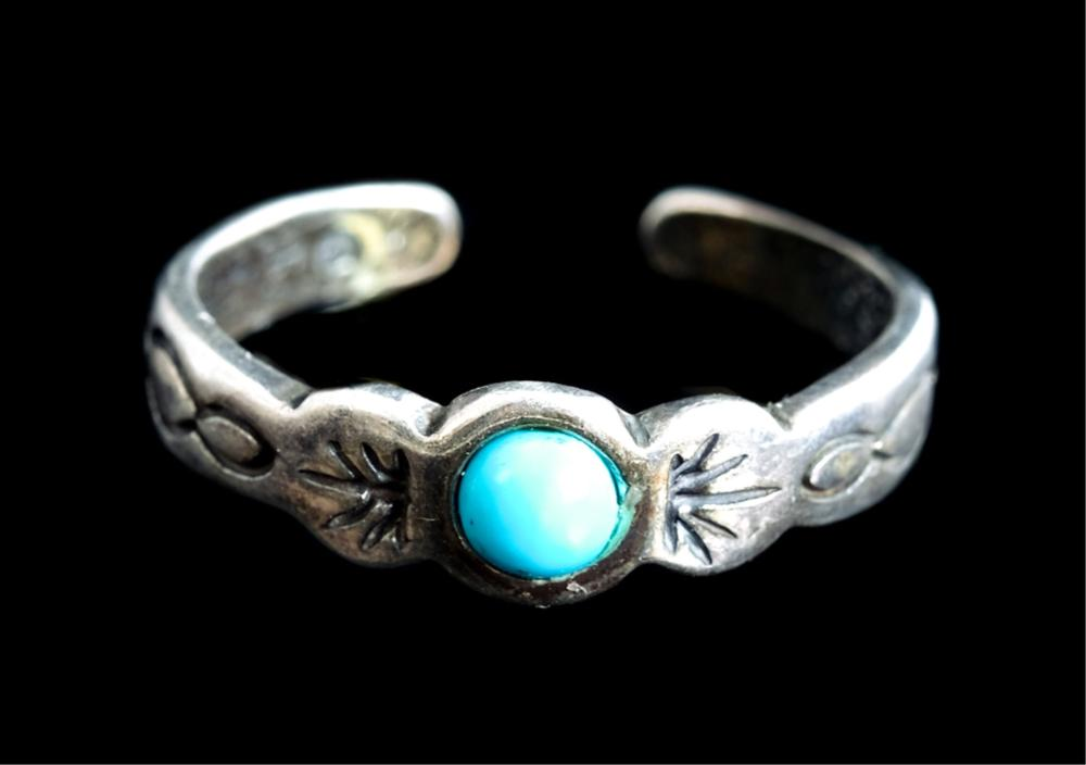 Sterling Silver & Turquoise Ring, Earrings Pendant
